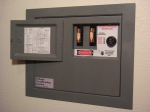 Secret Wall Safe Looks Like an Electrical Panel.